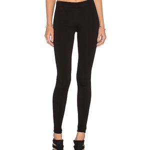 Vince stretch zippered leggings